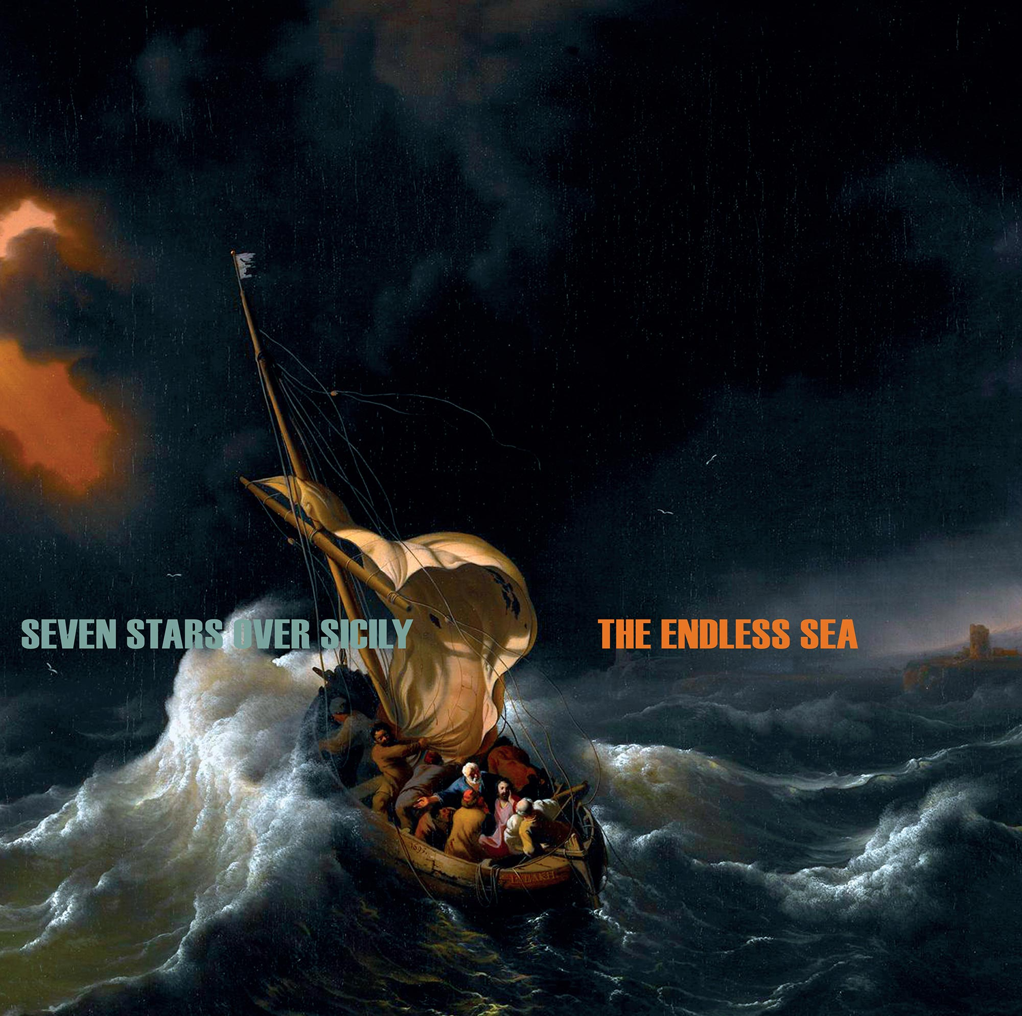 Seven Stars Over Sicily - LP The Endless Sea - front cover vinyl